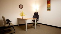 One Person Interior Office
